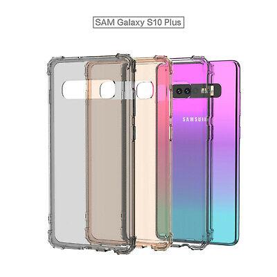 TPU Crystal clear 360°Soft Ultra thin Case Cover Samsung Galaxy S10 S7 Edge S8 + 10