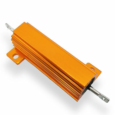 US Stock 4pcs 6K ohm 6K 50W Watt Aluminum Housed Metal Case Wirewound Resistors