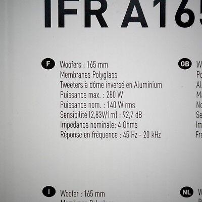 Kit haut parleur specifique Renault Focal music premium IFR A165-4.1 7711578133 4