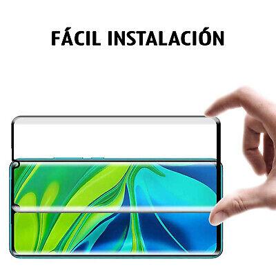 Protector Pantalla Xiaomi Mi Note 10 Cristal Templado Completo 3D Dureza 9H 5