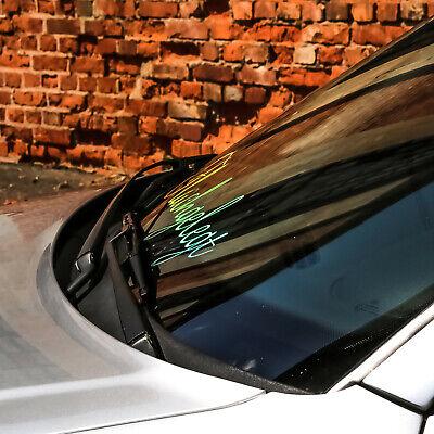 Flachgelegt Sticker  Autoaufkleber Hologramm Oilslick Sticker Glitzer Rainbow Ef