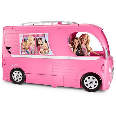 New Mattel Barbie Pop Up Camper Vehicle Plus 2 Dolls Raquel /& Ken Dolls
