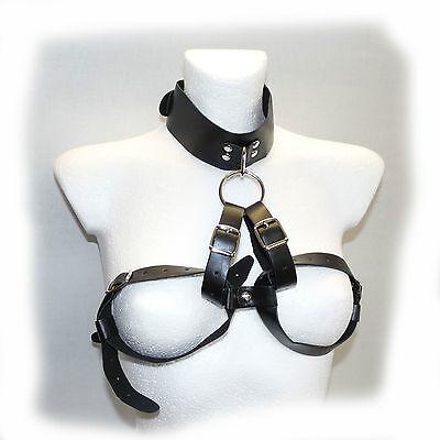 Full Adjustable Collar-Breast Bra  - Schwarz (510) 2