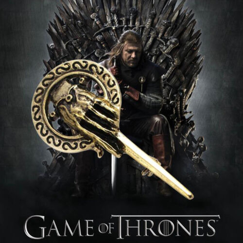 3D Game of Thrones Hand of King Metal Alloy Brooch Pin Badge Replica Insignia D 3
