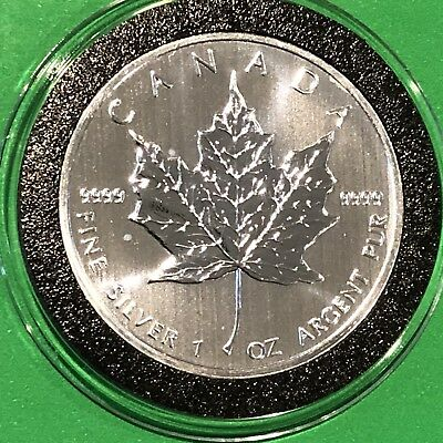 2013 Canada Maple Leaf Collectible Coin 1 Troy Oz .9999 Fine Silver Round Medal 7