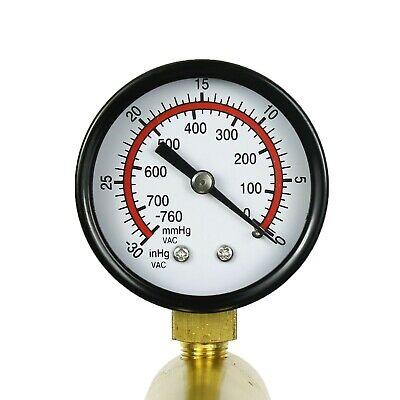 2 In 1 Brake Bleeder & Vacuum Pump Gauge Test Tuner Kit Tools DIY Hand Tools US 6
