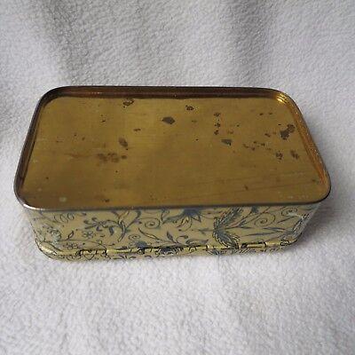 sehr alte Blechdose Biesolt&Locke Meissen Nähmaschinen seltene Dose mit Spiegel 9