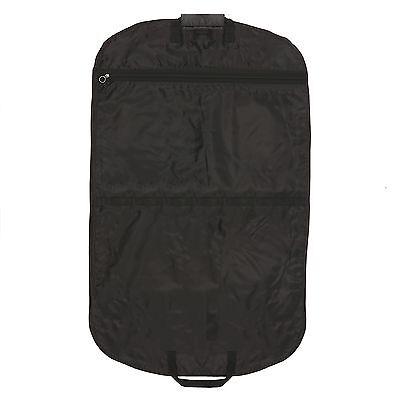 """Hoesh 44"""" Strong Heavy Duty Nylon Men Travel Suit Garment Carrier Cover Bag"""