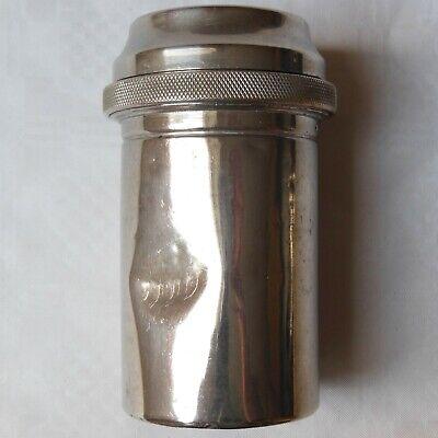 DREI-PFEIL MARKE - MAXIMUS antike Box für Spritzen und Nadeln Sterilisator WW2 9