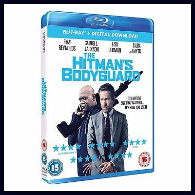 THE HITMANS BODYGUARD - Ryan Reynolds   **BRAND NEW BLU-RAY *** 2
