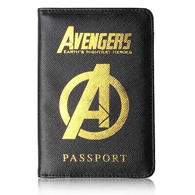 The Avenger Wakanda Hydra Hogwarts Passport Cover RFID Blocking Credit Card Case 10