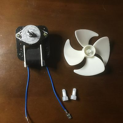 GE Whirlpool, Amana, Maytag Fridge Fan motor with Blade large size fridge 0532 3