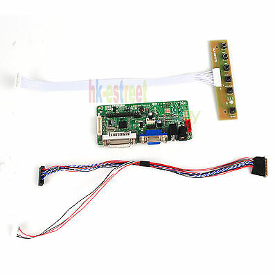 DVI+VGA+Audio LCD Controller Board Driver For LTN156AT23-W01 1366X768 LVDS 40PIN