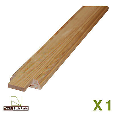 STAIRCASE KIT - LOWER BANNISTER - 2.4 metres - Post to Ceiling Traditional Pine 4