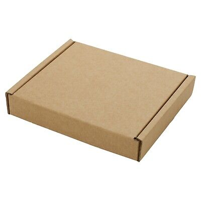 Small Royal Mail Large Letter Cardboard Postal Pizza Style Mailing Folding Boxes 5