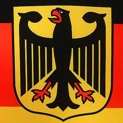GERMANY FLAG WITH Eagle 90 x 150 German Flag National Flag Germany ...