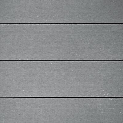 WPC Terrassendielen Komplettbausatz Kuba mit UK Terrassenboden grau
