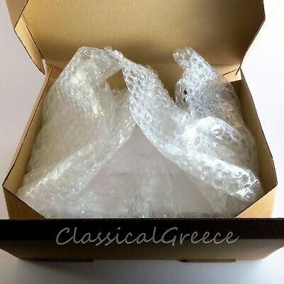 """Statue Ancient Greek Goddess Demeter Alabaster 9"""" - 23cm Cast Marble Mythology 7"""