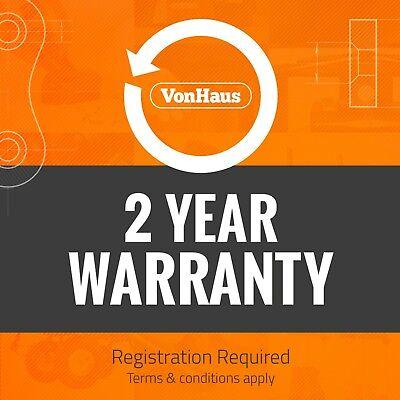 VonHaus Digital Tyre Inflator Cordless Handheld Air Compressor / Automatic Pump 5