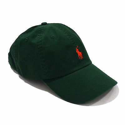 438f84b29db ... Polo Ralph Lauren Ball Cap Hat Mens Pony Logo Baseball One Size  Adjustable New 2