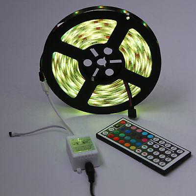 1-30M LED Stripe RGB Leiste Streifen 5050 Band IP65 Wasserdicht Lichterkette 5