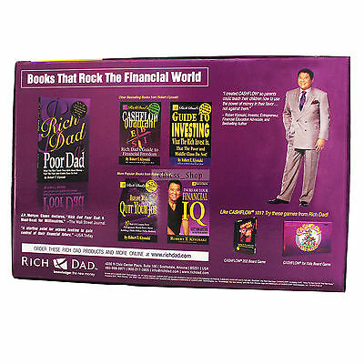 New 101 & 202  Cashflow Boardgame Rich Dad Investing Finance  - Free SHIPPING UK 3