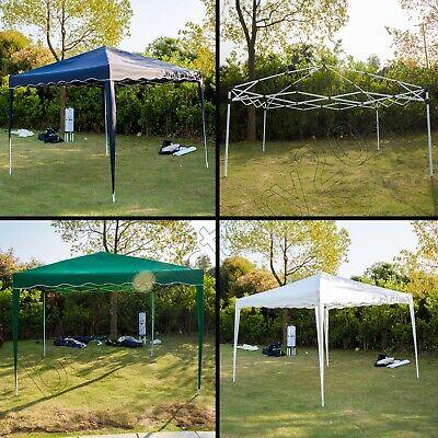 Klapp Falt Pavillon 3x3m WASSERDICHT Gartenzelt Partyzelt Pavillion Seitenteile 10