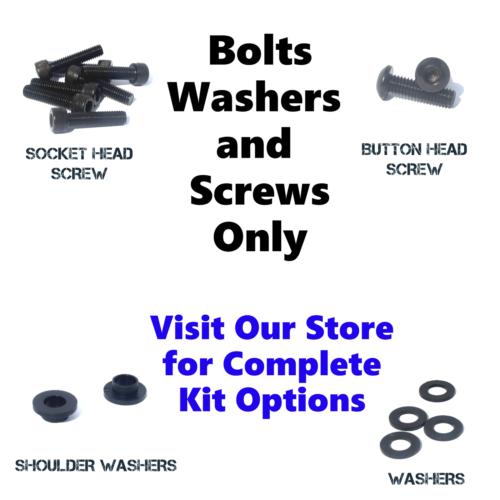 Black Fairing Bolt Kit body screws fasteners for Honda CBR 1000RR 2006 - 2007