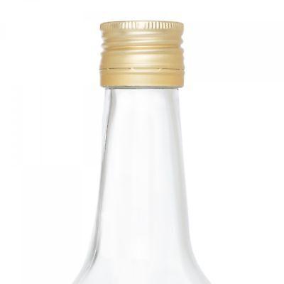 12er Set Glasflaschen 1L 1000ml Weinflaschen Likör Flaschen Schraubverschluss 5