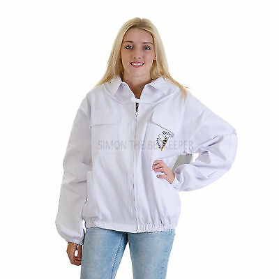 Buzz Beekeeping Bee Jacket with Round Veil - SMALL 2