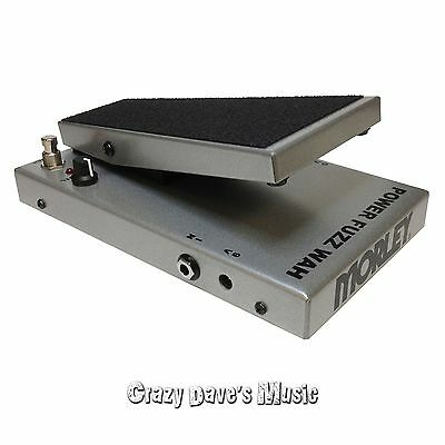 Morley Cliff Burton Metallica Tribute Series Power Fuzz Wah with 2 patch cables 6