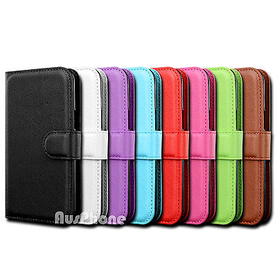 Wallet Leather Flip Case Cover For Samsung Galaxy J2 Pro 2018 J5 J7 Pro J8 A5 A8 2