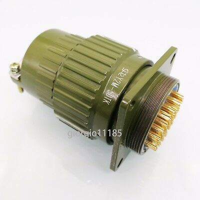 US Stock Military 50-Pin Male Female Circular Connector Y2M-50TK/ZJ YP36-50