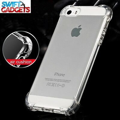 For iPhone XR Case Shock Proof Crystal Clear Soft Silicone Gel Bumper Cover Slim 7