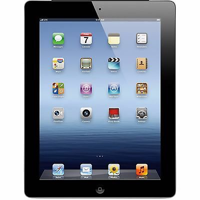 BUNDLE Apple iPad 4th Gen. 16GB, Wi-Fi, 9.7in - Black - GREAT CONDITION (R-D) 2