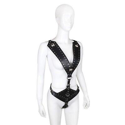 bondage kit body intimo slave fetish sex toy donna seno scoperto sadomaso 6