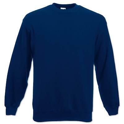 Fruit of the Loom Sweatshirt Set-In Herren Pullover Pulli Gr. S M L XL 2XL 3XL 6