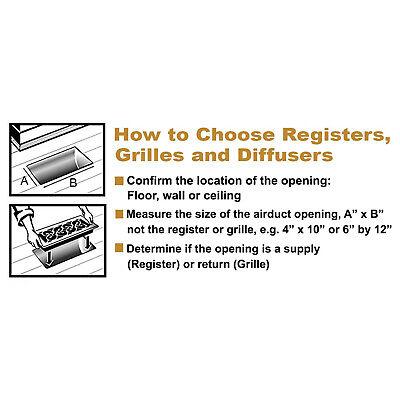 Floor Register Design Vent Cover Steel 2x12 3x10 6x10 6x12 6x14 4x10 4x12 4x14 6