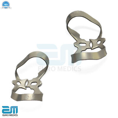 Dental Rubber Dam Clamps Molars Tooth Isolation Dentist Endodontic Instrument CE 6