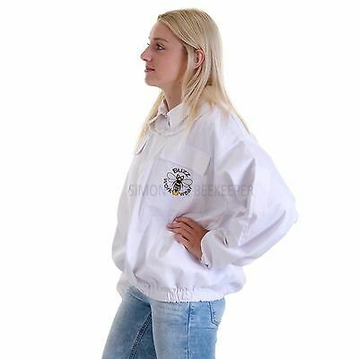 Beekeeping bee jacket with Round Veil - Kids Small 6