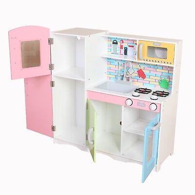 Kiddi Style Superior Little-Helper XLarge Childrens Kids Play Toy Wooden Kitchen 5