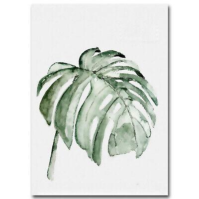 Unframed Tropical Plant Leaf Prints Art Canvas Poster Modern Wall Home Decor 5