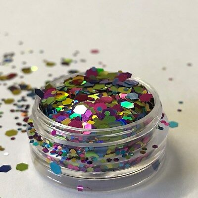 Chunky Glitter Loose Mix Pot Eye Shadow Nail Face Tattoo Festival Club Cosmetic 4