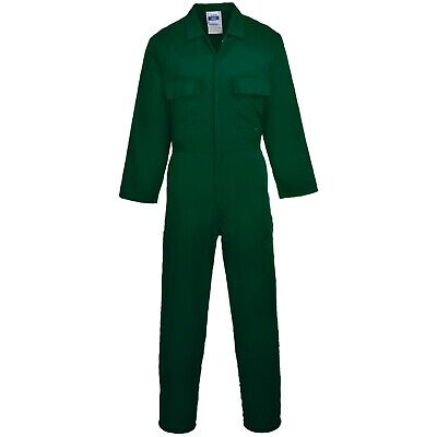 Personalised Embroidered Overalls Custom Printed Coveralls Workwear Boiler Suit 2