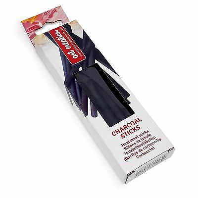 Talens Charcoal Sticks - Drawing, Standalone Works or Painting - Pack of 10