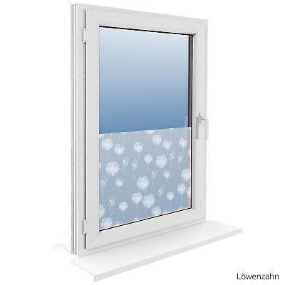 90 cm Fensterfolie Statische Sichtschutzfolie Milchglasfolie Glasdekorfolie 8