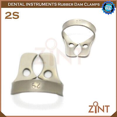 Rubber Dam Universal Clamps Upper & Lower Premolar Anterior Medesy Basic Set New 3