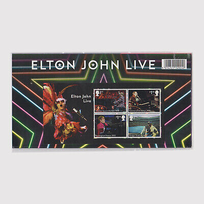 2019 Music Giants - Elton John Presentation Pack 2