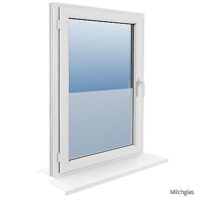 90 cm Fensterfolie Statische Sichtschutzfolie Milchglasfolie Glasdekorfolie 2