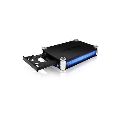 """ICY-BOX IB-550StU3S USB3.0,eSATA Ext Gehäuse f. 5,25"""" SATA Blu-Ray/DVD Brenner"""